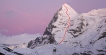 Eiger after Sunset